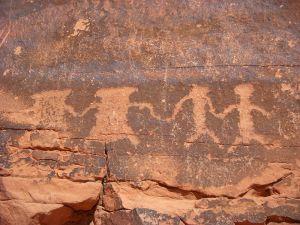 public use Valley_of_Fire_Petroglyphs